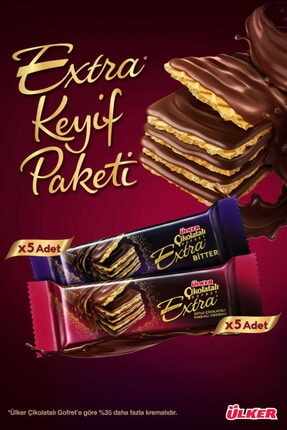 Ülker Extra Keyif Çikolata & Kahve Paketi 0