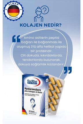 Eurho Vital Eurho® Vital Hyaluronik Asit, Kollajen Ve Biotin Içeren Takviye Edici Gıda 1