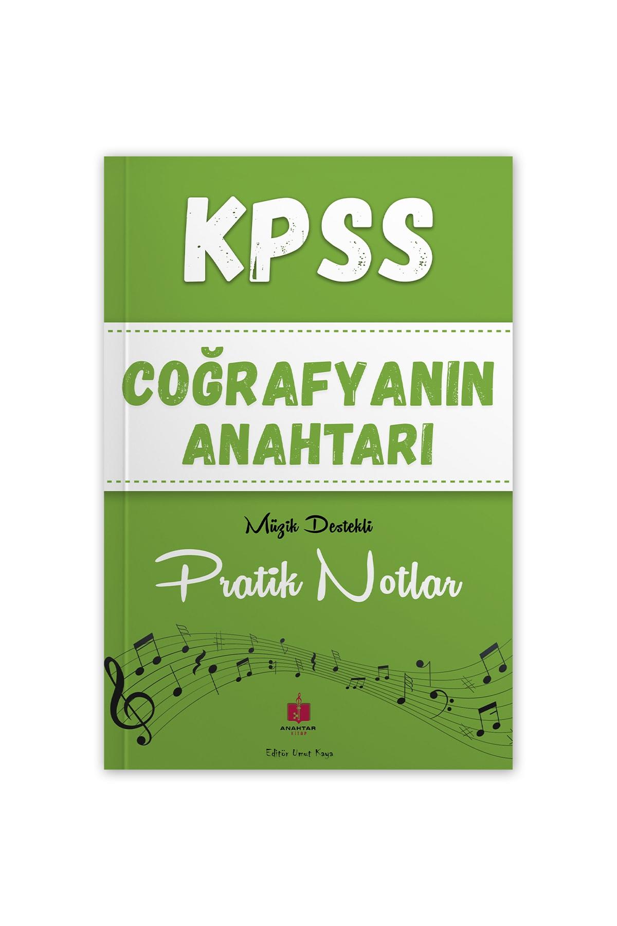 Kpss Coğrafyanın Anahtarı Müzik Destekli Pratik Notlar