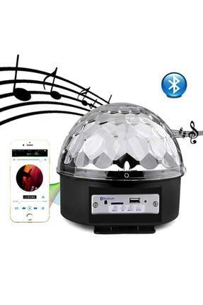 BAY MİA Küre Disko Topu Müzik Çalar Renkli Lazer Işıklı Bluetooth Sese Duyarlı Işıklar Disko Parti Işığı 3