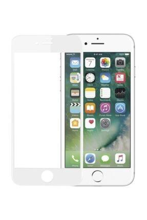 GLASSY Iphone 6s Plus Tam Kaplayan Kırılmaz Cam 9d Beyaz 1