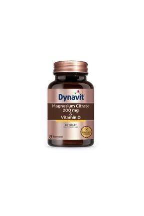 Dynavit Magnesium Citrate 200 Mg & Vitamin D / 60 Tb 0