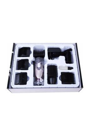 Powertec Saç Sakal Kesme Makinesi 2 Yıl Garantili Yedek Bataryalı 2