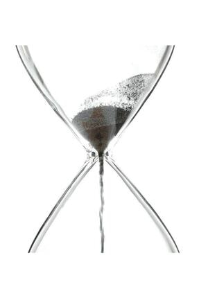 Viselia Kum Saati Mıknatıslı Kum Saati Ahşap Standlı Manyetik Kum Saati 1