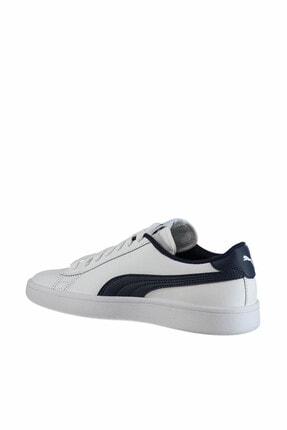 Puma Smash V2 L Jr Beyaz Kadın Sneaker 100346458 2