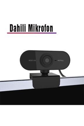 TeknoExpress Uzaktan Eğitim Için Full Hd 1080p Çözünürlük Mikrofonlu Bilgisayar Kamerası Webcam 1
