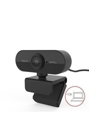 TeknoExpress Uzaktan Eğitim Için Full Hd 1080p Çözünürlük Mikrofonlu Bilgisayar Kamerası Webcam 3