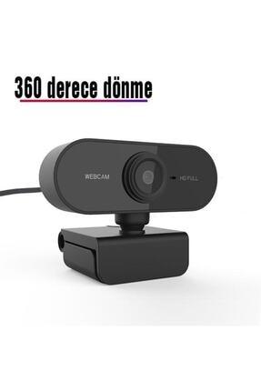 TeknoExpress Uzaktan Eğitim Için Full Hd 1080p Çözünürlük Mikrofonlu Bilgisayar Kamerası Webcam 4