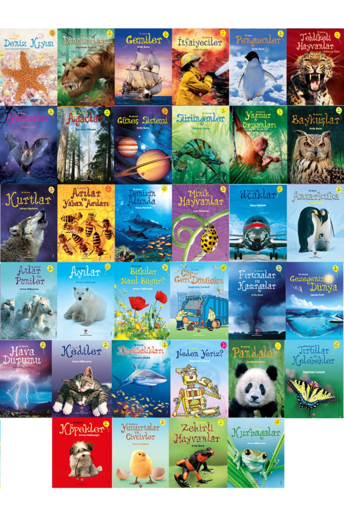 İlk Okuma Kitapları Seti  Tüm Set 34 Kitap Yaş