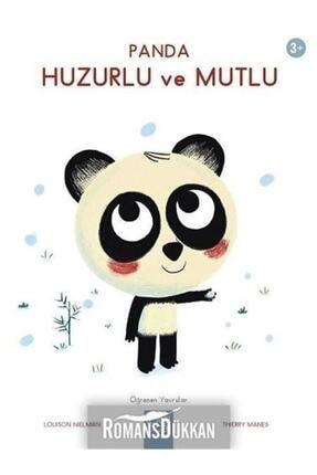 1001 Çiçek Kitaplar Panda Huzurlu Ve Mutlu-öğrenen Yavrular 3+ 0