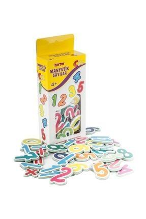 DF Toys 3'lü Manyetik Sayılar-harfler-tangram Magnet 3-6 Yaş 1