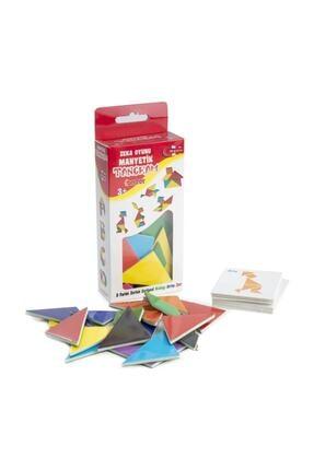 DF Toys 3'lü Manyetik Sayılar-harfler-tangram Magnet 3-6 Yaş 2