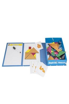 DF Toys Manyetik Tablet Tangram 2