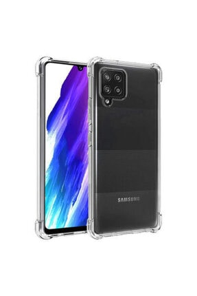 Samsung Galaxy A12 Kılıf Nitro Anti Shock Sert Silikon Kapak 0