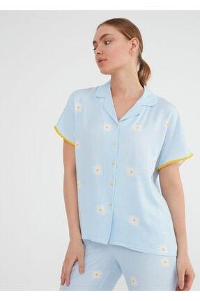 Suwen Daisy Maskulen Pijama Takımı 2