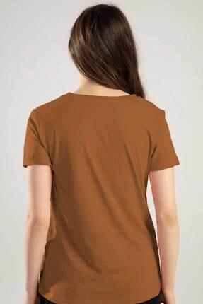 Pattaya Kadın V Yaka Kelebek Detaylı Duble Kol Tişört Y20s134-1138 1