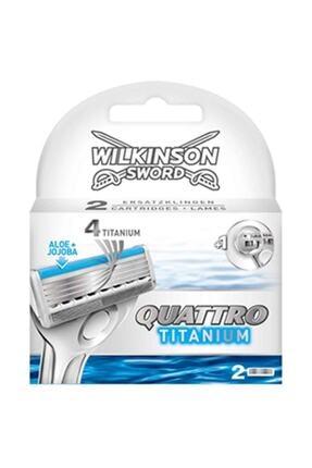 Wilkinson Sword Wilkinson Quattro Titanium Sensitive 2 Yedek Kartuş 0
