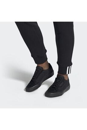adidas Erkek Siyah Continental Vulc Ayakkabı 0