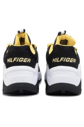 Tommy Hilfiger Erkek Siyah Tommy Jeans Heritage Chunky Sneaker Em0em00342 U005145 4