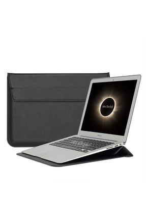 "MacBook Retina 15"" 15.4 Deri Çanta Kılıf Sleevebag Pu Stand 1058 resmi"