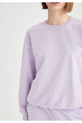 Defacto Yarım Düşük Omuz Sweatshirt 2
