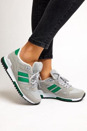 Tonny Black Unısex Gri Yeşil Spor Ayakkabı 2