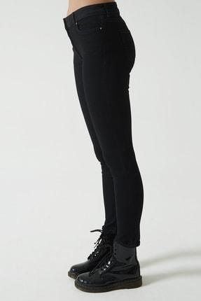 CROSS JEANS Judy Siyah Yüksek Bel Skinny Fit Jean Pantolon C 4521-026 3