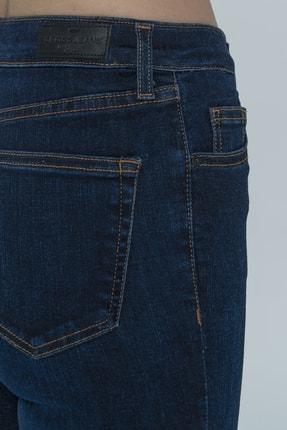 CROSS JEANS Judy Lacivert Yüksek Bel Skinny Fit Jean Pantolon 4
