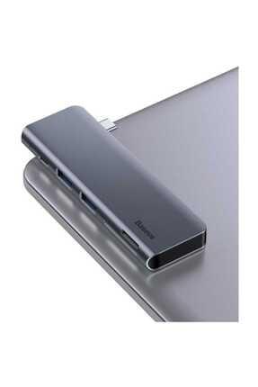 Baseus Harmonica Hub Type C to USB SD TF PD Dönüştürücü 1