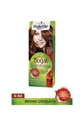 Palette Kalıcı Doğal Renkler 6-68 Bronz Çikolata 0