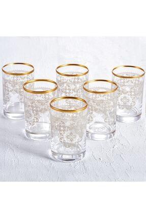 Karaca Sare 6lı Kahve Yanı Bardağı Gold 0