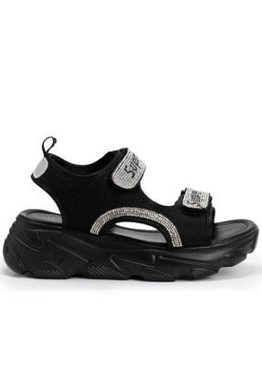 OZ DOROTHY Ozdorothy Kalın Taban Siyah Kadın Sandalet 0