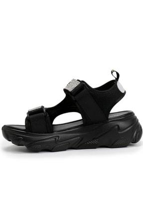 OZ DOROTHY Ozdorothy Kalın Taban Siyah Kadın Sandalet 1