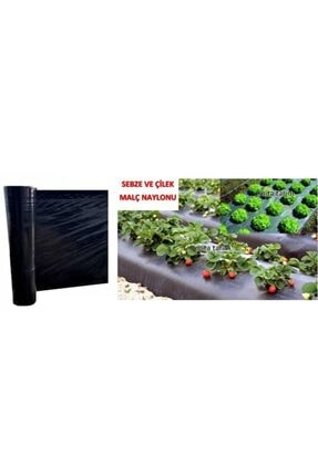 mita tarım Siyah Malç Naylonu 130 cm 80 Micron 25 mt 1