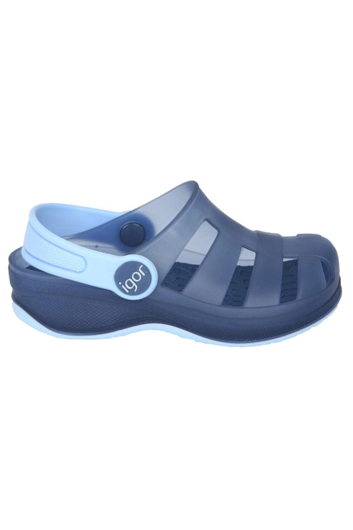 Unisex Çocuk Mavi Günlük Stil Sandalet S10251-023
