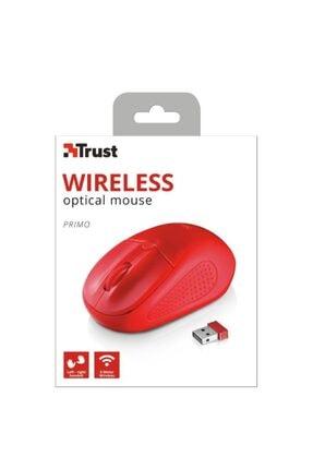 Trust Primo 20787 Kablosuz Kırmızı Mouse 3