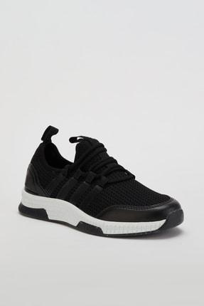 Muggo Unisex Siyah Sneaker Ayakkabı Mgforce01 1