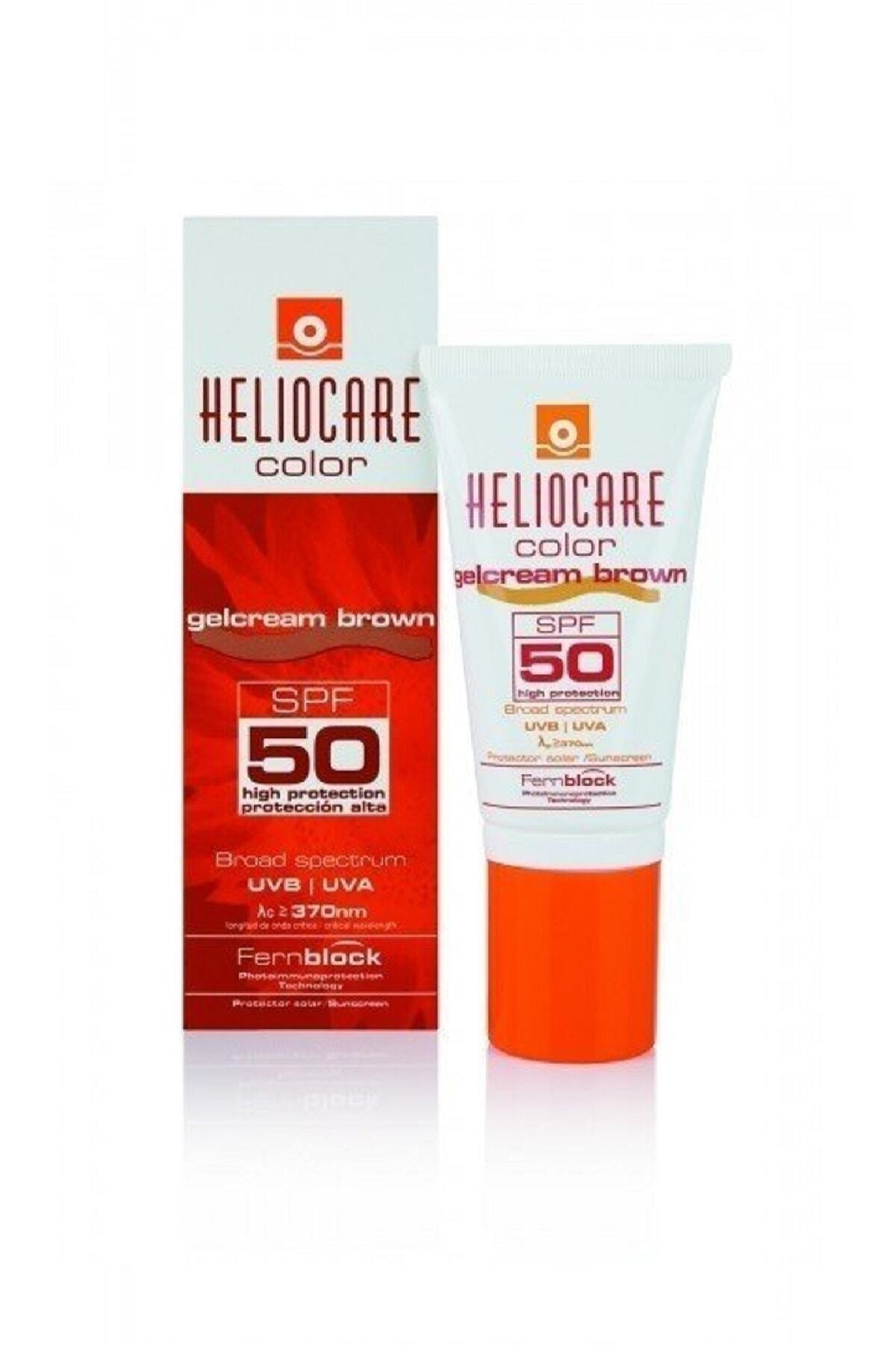 Color Spf50 Gelcream Brown 50 ml