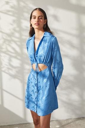 Urban Muse Kadın Jakarlı Gömlek Elbise 1
