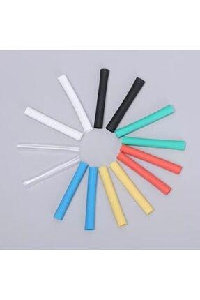 HONDEP Iphone Uyumlu Şarj Kablosu Karışık Renkli Koruyucu Makaron 12 Adet 6 cm 4