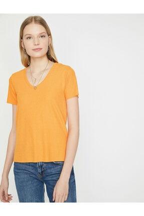 Koton Kadın Kisa Kollu T-shirt 1