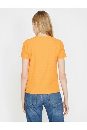 Koton Kadın Kisa Kollu T-shirt 3