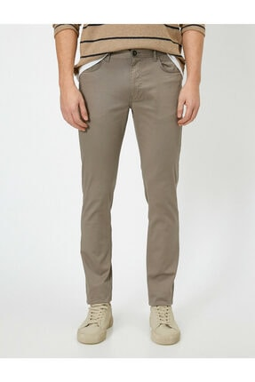 Koton Cep Detayli Slim Fit Pantolon 2