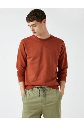 Koton Erkek Kırmızı Sweatshirt 1