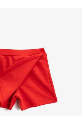 Koton Kız Çocuk Kırmızı Mini Etek 4