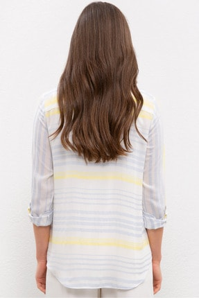 US Polo Assn Mavı Kadın Gömlek 2