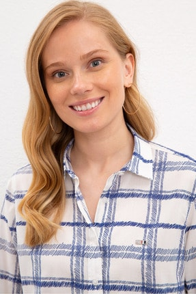 US Polo Assn Lacıvert Kadın Gömlek 1