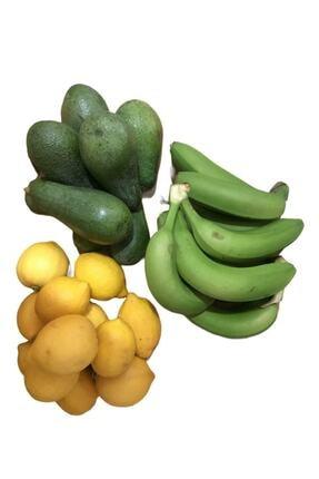 Alanya Özlem Avokado (1kg) ,limon (2kg) ,muz (2kg) Taptaze Ürünler 0