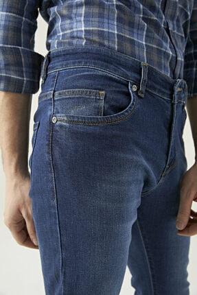 D'S Damat Erkek Slim Fit Mavi Renk Pantolon 2