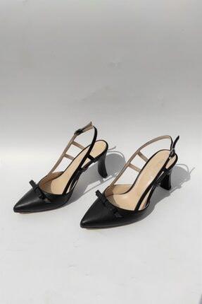 Kadın Fiyonklu Topuklu Ayakkabı ENES 6052